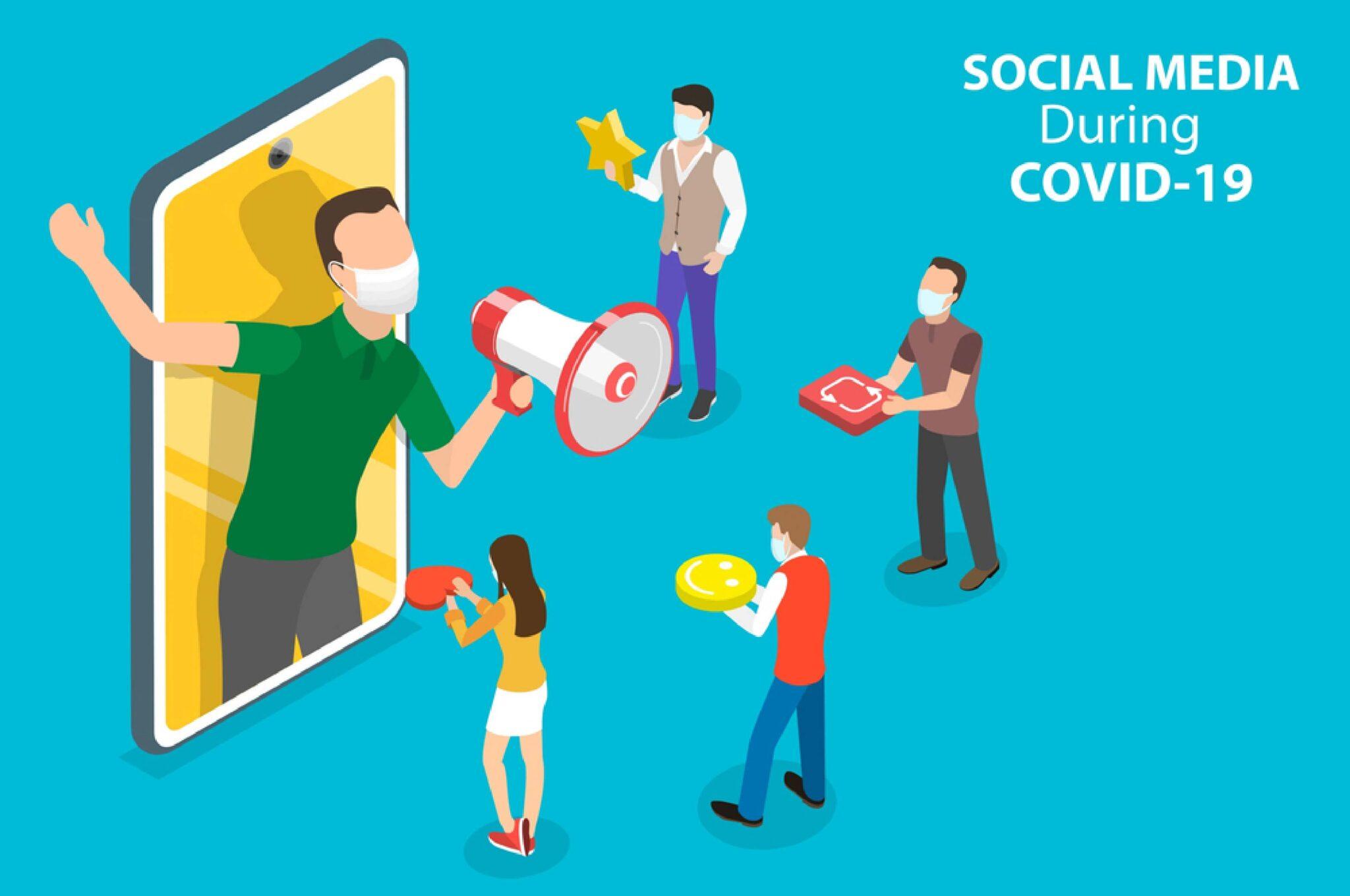 social media marketing in Covid 19